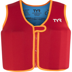 TYR Progressive Gilet de natation Enfant, red